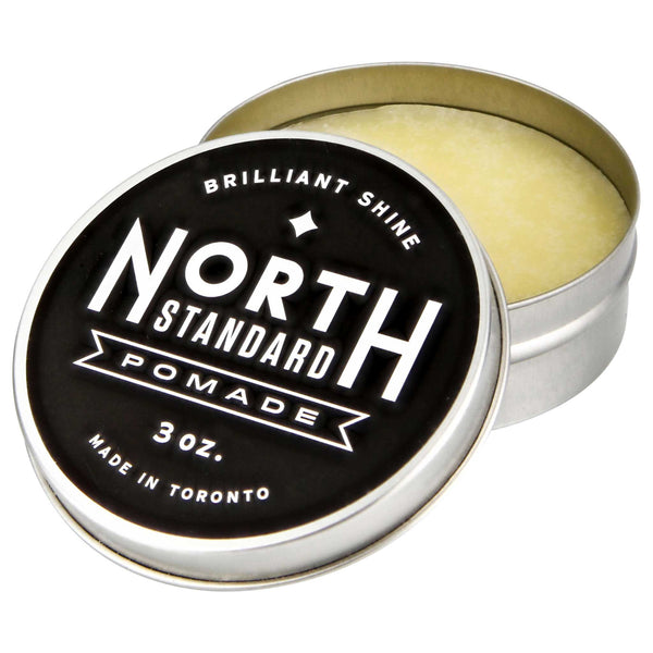 open tin of North Standard Pomade