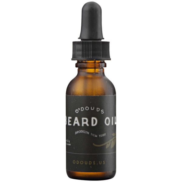 O'Douds Beard Oil Front Label