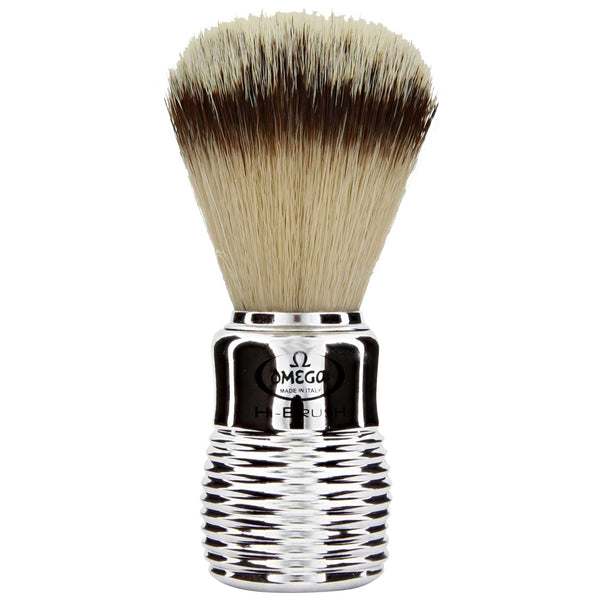 easy to care for wet shaving brush for safety razors or straight razors