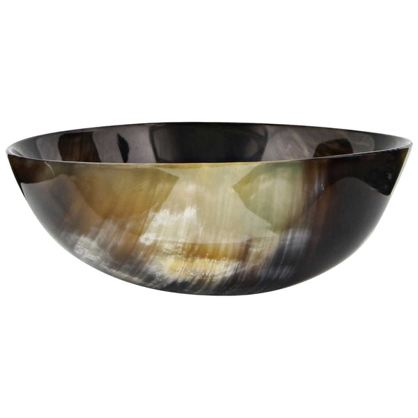 side profile of shaving bowl from parker ox horn
