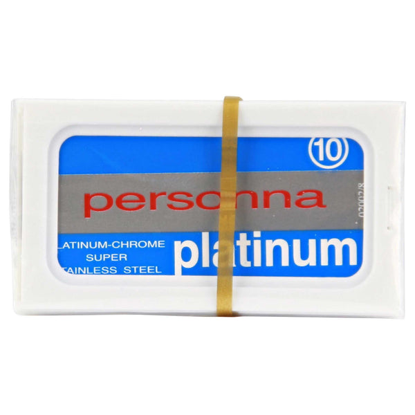 stainless steel blades are long lasting personna platinum de blades
