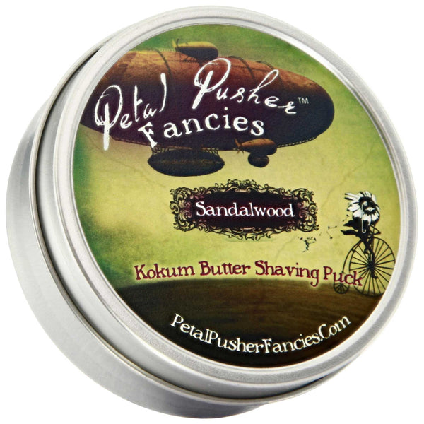 Petal Pusher Fancies Kokum Butter Shave Soap Sandalwood