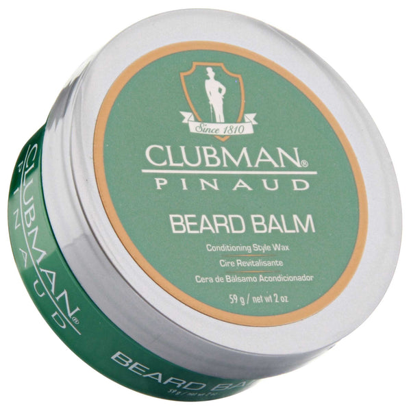 Pinaud Clubman Beard Balm Top Label