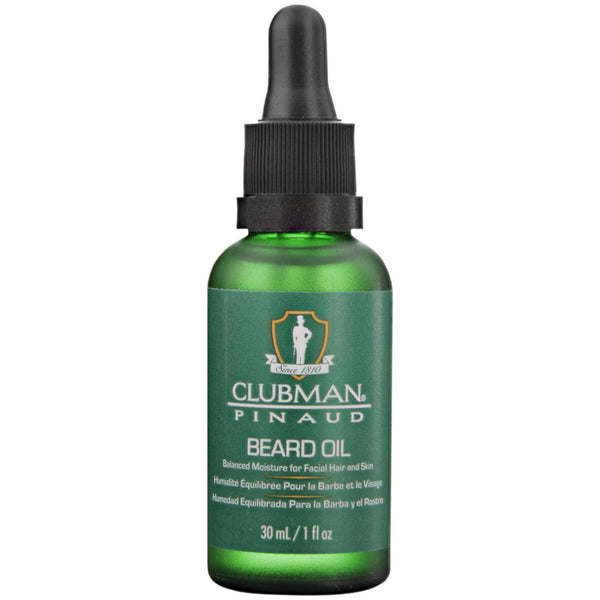 Pinaud Clubman Beard Oil Front Label