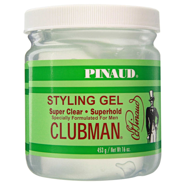Pinaud Clubman Styling Gel, Super Clear