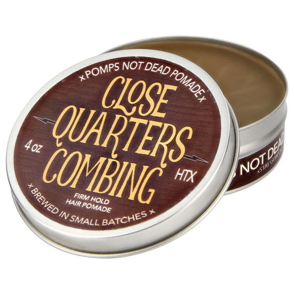 inside view of Pomps Not Dead Close Quarters Combing Pomade