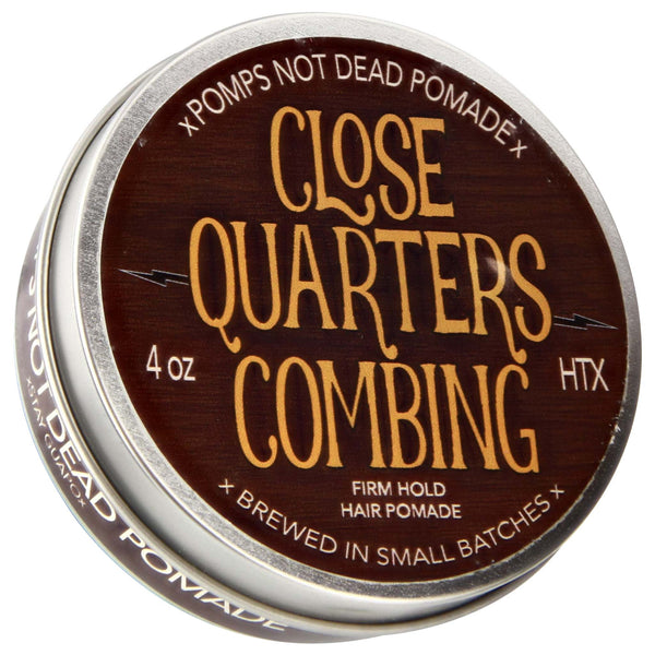 Pomps Not Dead Close Quarters Combing Pomade