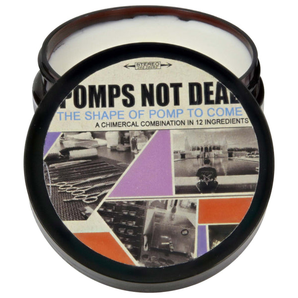 the shape of pomp to come waterbased pomade