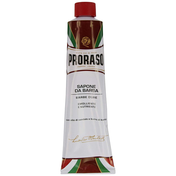 great shaving cream for thick coarse beards proraso nourishing tube