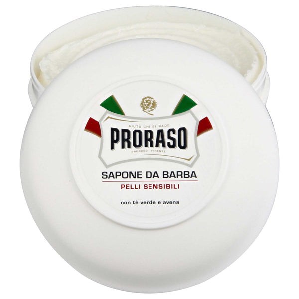 Proraso Shave Soap, Sensitive Open