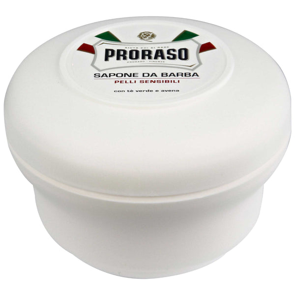 Proraso Shave Soap, Sensitive Label