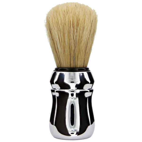 Professional boar hair brush Long stiff bristles that quickly turn shave soaps into creamy foam