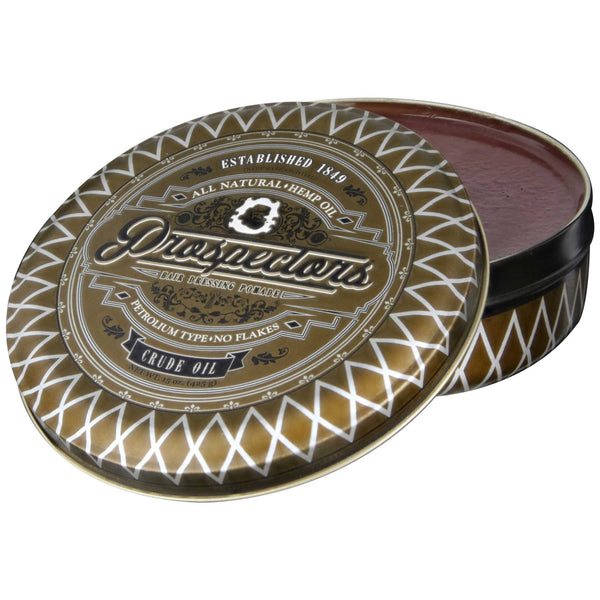 Prospectors Crude Oil Pomade 15 oz Open
