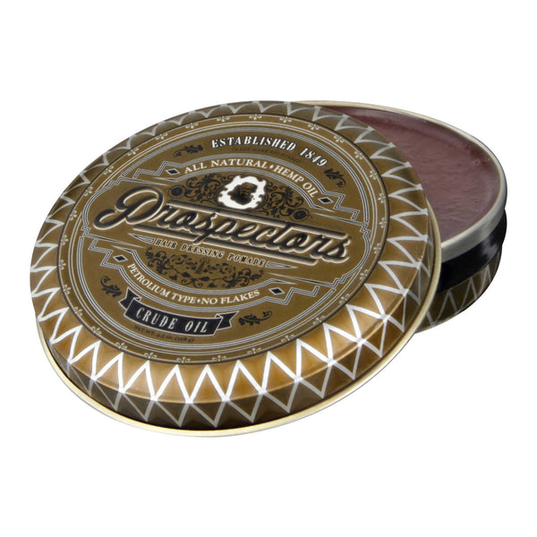 Prospectors Crude Oil Pomade Open
