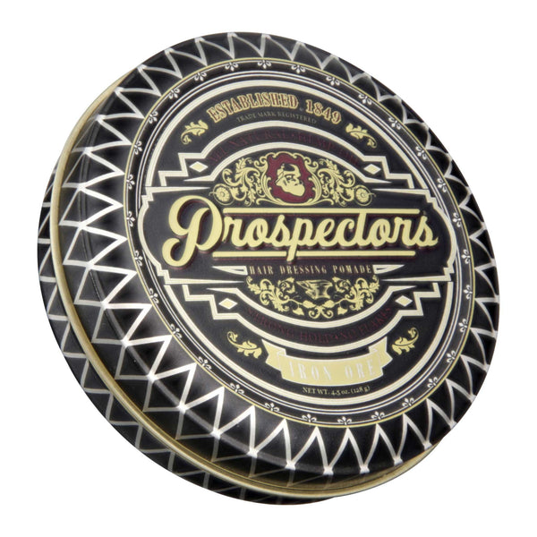 Prospectors Iron Ore Pomade Top Label
