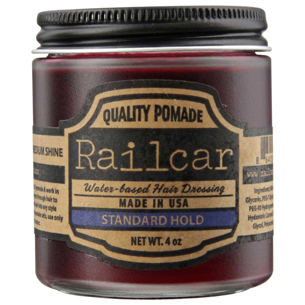 Railcar Pomade Standard Hold Side Label