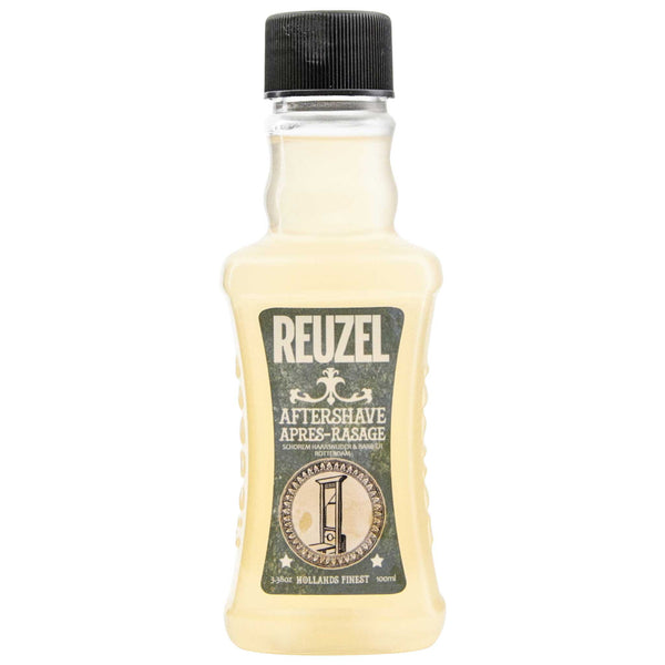 bottle of great aftershave by reuzel