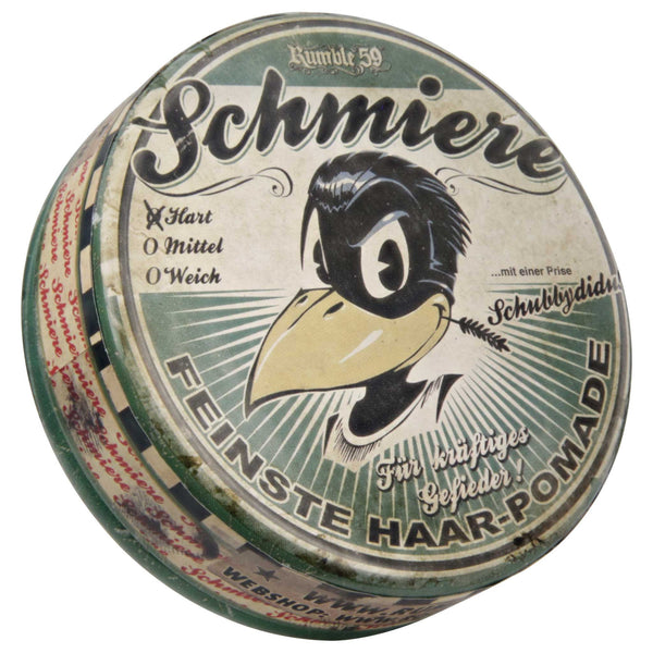 Schmiere water based pomade with a very strong hold