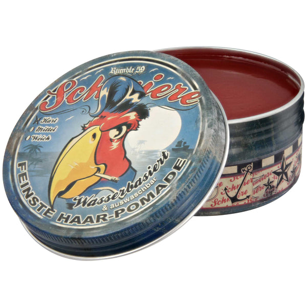 Schmiere Cherry scented hard water based pomade