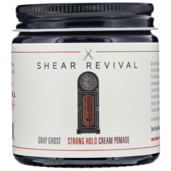 Shear Revival Gray Ghost Strong Hold Cream Pomade