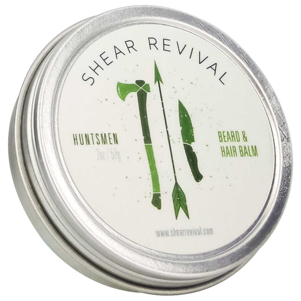 Shear Revival Huntsmen Beard & Mustache Wax Label
