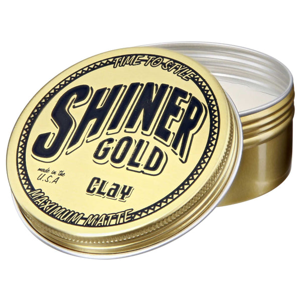 Shiner Gold Matte Clay Open