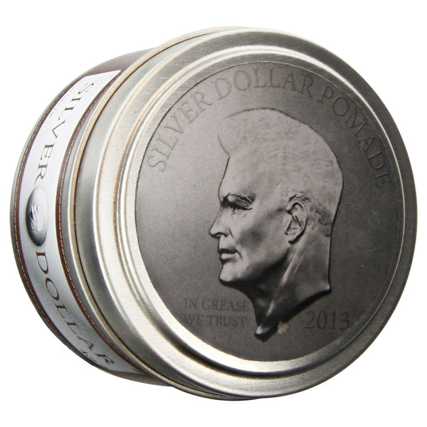 Silver Dollar Pomade Top