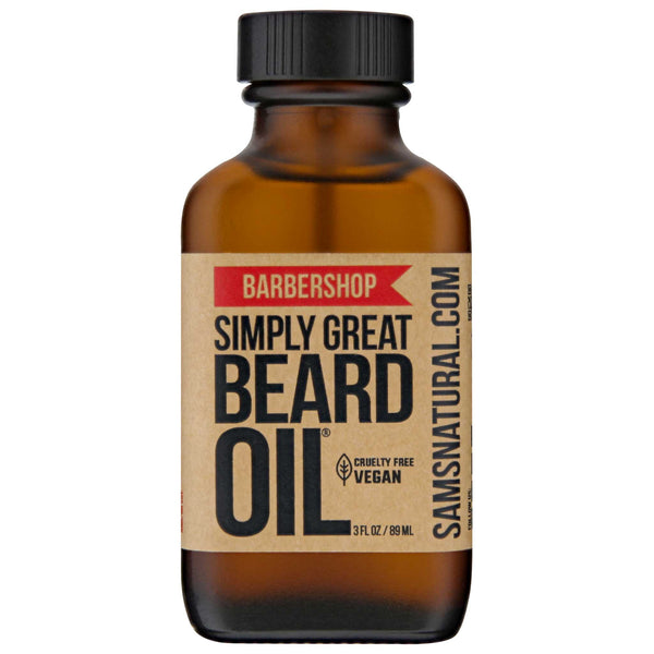 Simply Great Beard Oil Barbershop Scent