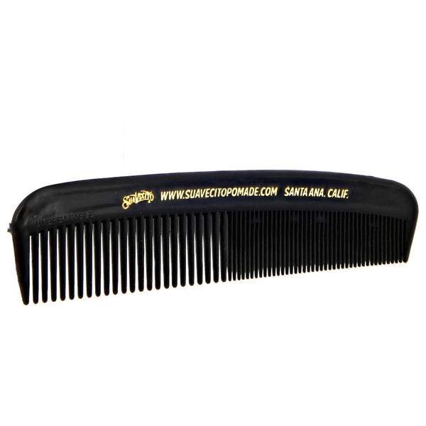side view of deluxe comb from suavecito pomade