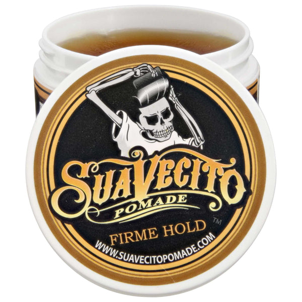 Suavecito Firme/Strong Hold Pomade Open