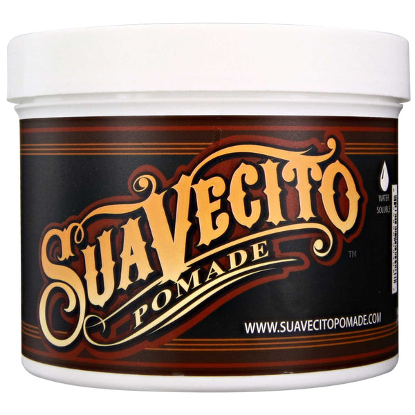 Suavecito Original Hold Pomade 32 oz Tub Side Label