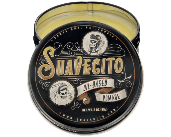 Suavecito Oil Based Pomade- Open