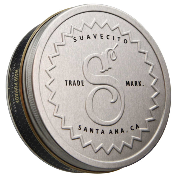 Suavecito Premium Blends Hair Pomade Top Label