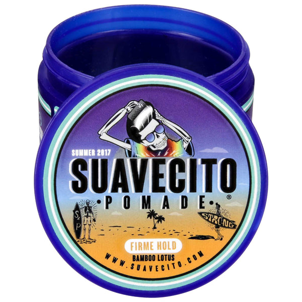 perfect pomade for the summer season Suavecito Firme/Strong Hold Summer Pomade