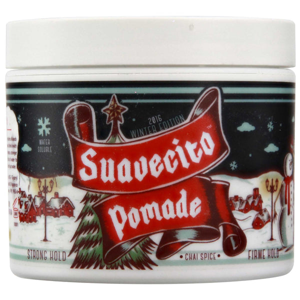 Suavecito Firme Hold Winter Pomade Side Label