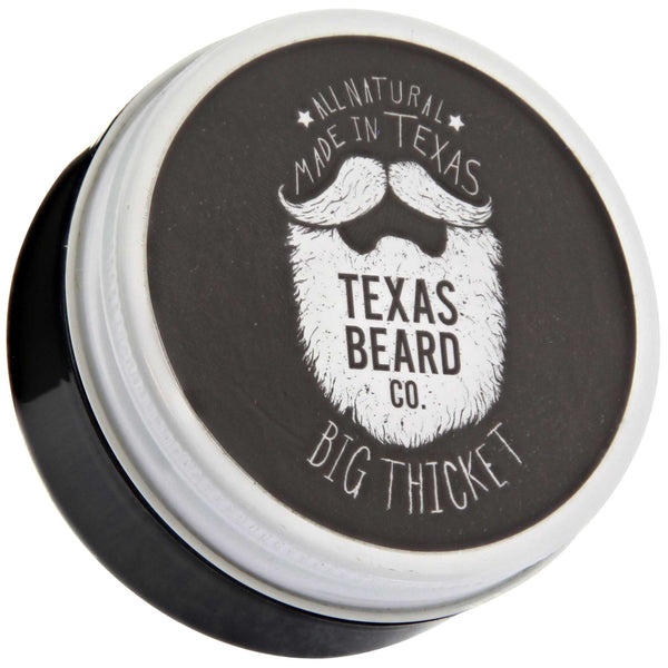 Texas Beard Co. Big Thicket Beard Balm Front Label