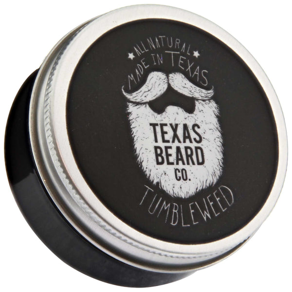 Texas Beard Co. Tumbleweed Beard Balm Top Label