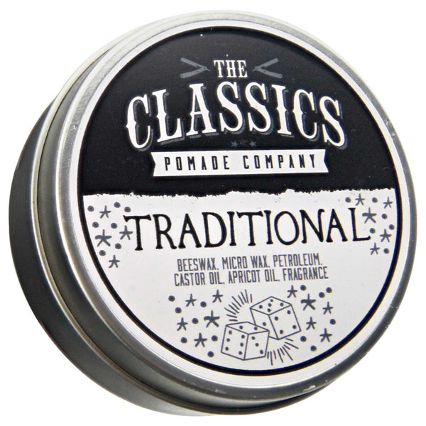 The Classics Pomade Co. Traditional Pomade Open