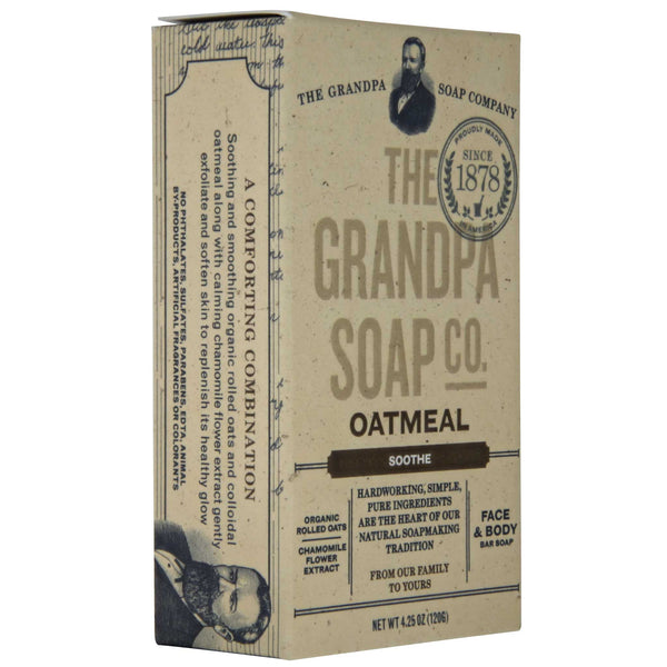 Grandpa's Oatmeal Soap