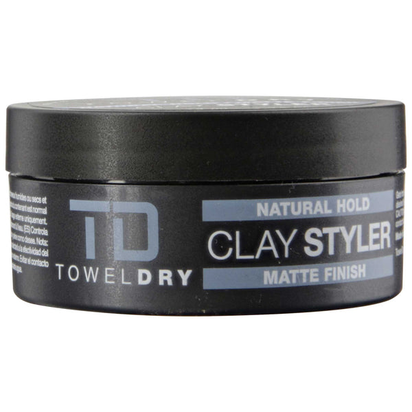 TowelDry Clay Styler Pomade Side Label