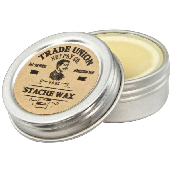 Trade Union Supply Stache Wax Open