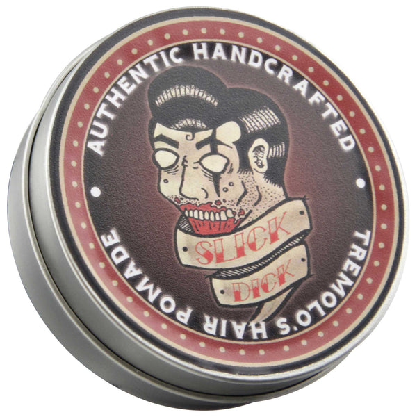 Slick Dick Pomade Top Label