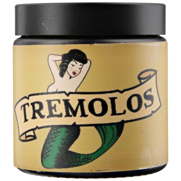Tremolo's Water Based Pomade Side Label