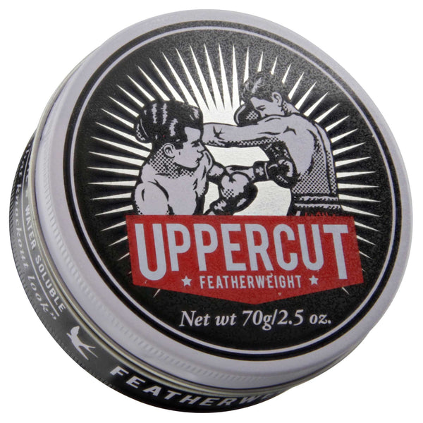 Uppercut Featherweight Pomade Top Label