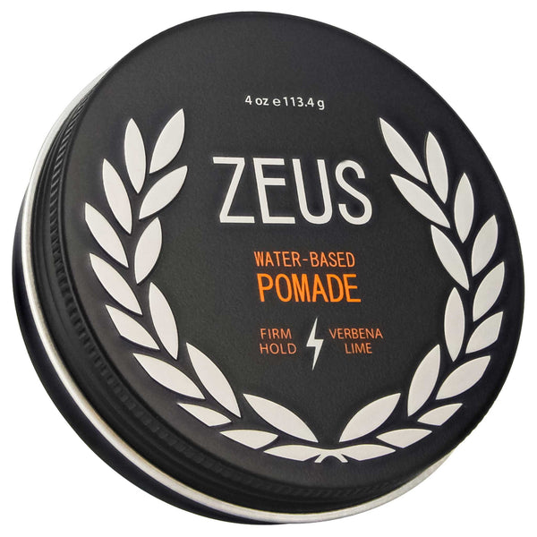water based cucumber melon scented Zeus Firm Hold Pomade