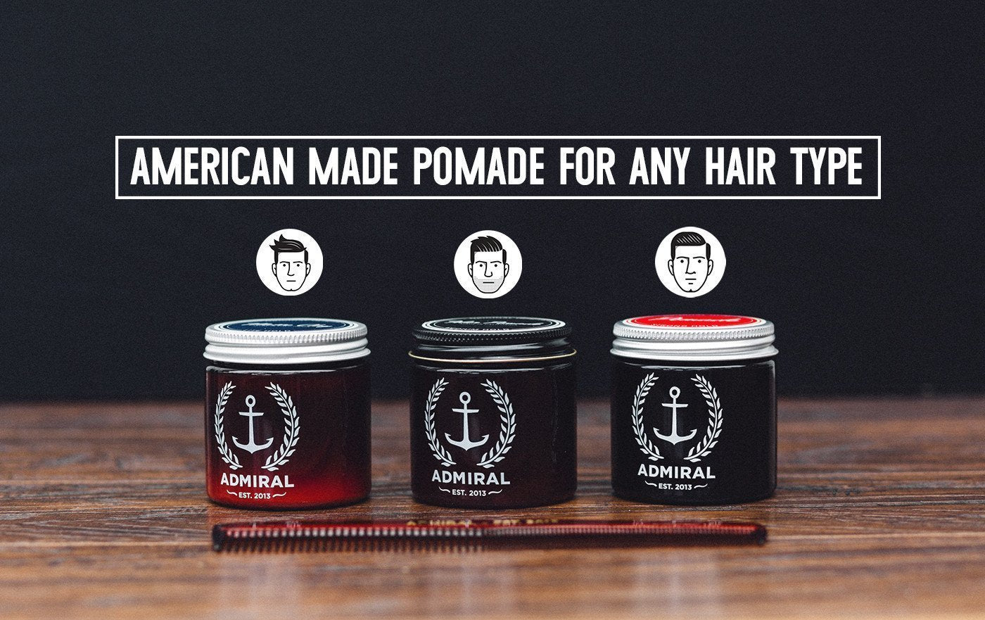 Admiral Pomade