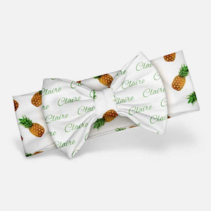 Pineapple - Custom Bow Headband
