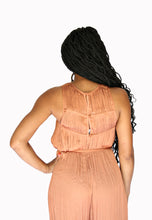 Load image into Gallery viewer, Sienna- Burnt Orange Romper
