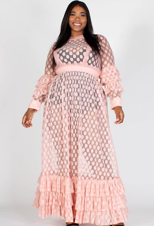 Connect The Dot Maxi Dress