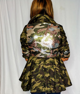 Fatigue Sequins Jacket